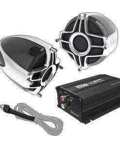 """Boss All Terrain Speaker & Amplifier System Bluetooth  3"""" Speakers"""