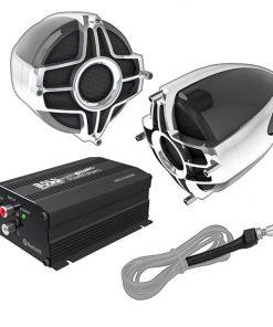 """Boss All Terrain Speaker & Amplifier System Bluetooth 4"""" Speakers  650W Max"""