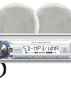 DUAL MECHLESS AM/FM/MP3 - 60 X 4 FRONT 1A USB SD INPUT 10 CHARACTER LCD