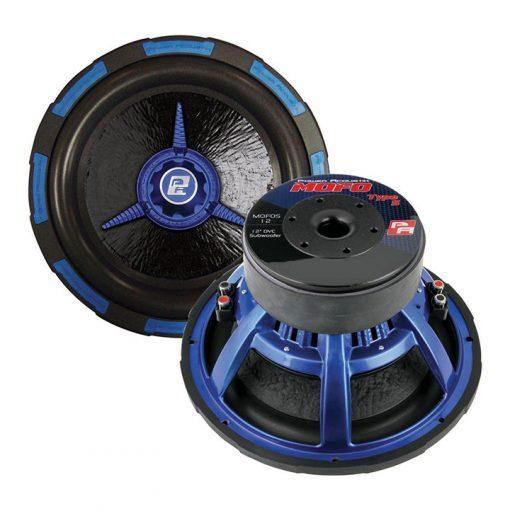 """Power Acoustik 12"""" Woofer Dual 2 Ohm 2500W Max"""