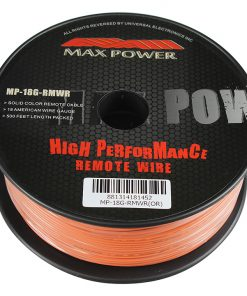 Max Power remote wire 18ga 500ft orange