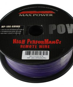 Max Power remote wire 18ga 500ft purple