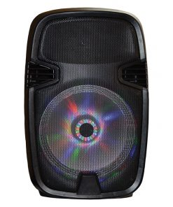 "Maxpower 10"" Woofer with Moon light Built in USB/SD/Bluetooth/Mic 3500 watts max"