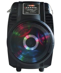 "6.5"" Woofer with Moon light Built in USB/SD/Bluetooth/Mic 800 watts max"