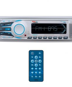 Boss Marine Single Din Mechless MP3/AM/FM