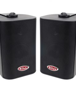 Boss 3-Way Indoor/Outdoor Speaker Black