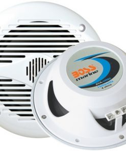 "Boss Marine 6.5"" 2-Way Coaxial Speaker 200W White"