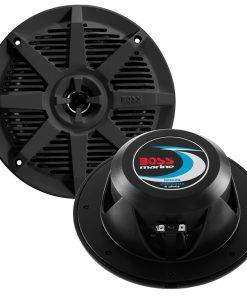"""Boss 6.5"""" 2-Way Coaxial Marine Speaker 200W Black"""