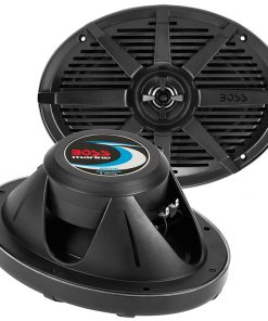 "Boss 6x9"" 2-Way Coaxial Marine Speaker 350W Black"