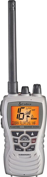 COBRA MARINE 6 WATT FLOATING VHF WHITE