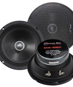 "American Bass 6.5"" Midrange Speaker 8 ohm (MX6BC)(each)"