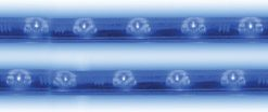 """Pipedream 12"""" LED Twin Rods Multi Color built in memory chip"""
