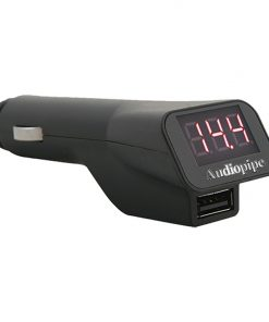 Audiopipe Voltage Meter with USB Charger