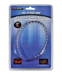 """Pipedream 12"""" High Intensity Flexible LED Strip cut ever 3 LED's Red"""