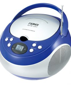 Naxa Portable CD Player with AM/FM Blue
