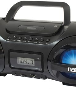 Naxa CD/MP3 Party Boombox with USB/SD