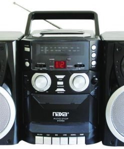 Naxa Portable CD Player AM/FM Cassette Player/Recorder
