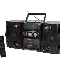 Naxa Portable MP3/CD Player with PLL FM stereo radio & USB input