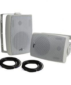 "Audiopipe Bluetooth 6.5"" (Pair) indoor/outdoor weatherproof loud speaker"