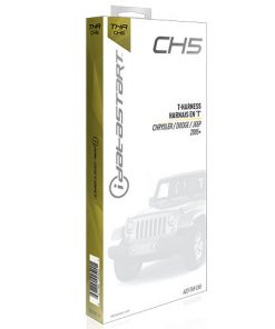 OmegaLink T-Harness for OLRSBA (CH5) Factory Fit Install; select Chrylser '05 and up Standard Key
