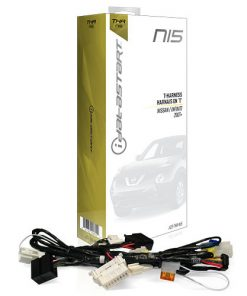 OmegaLink T-Harness for OLRSBA(NI5) - Factory Fit Install; select Nissan/Infinti '07+ Push-to-Start