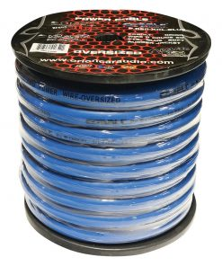 Orion Cobalt 0 Gauge Oversize Wire 50 ft Blue