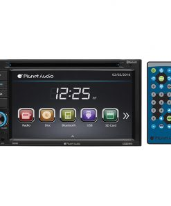 "Planet Audio 6.2"" D.Din Touchscreen DVD/BT"