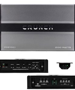 Crunch Power Drive Class A/B Mono 2100w Amplifier