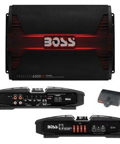 Boss PHANTOM 4000 Watts  Class D Monoblock Power Amplifier Remote Subwoofer Level Control