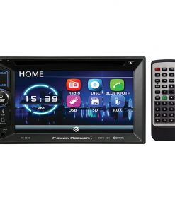 """Power Acoustik 6.2"""" Double Din Receiver with Bluetooth"""