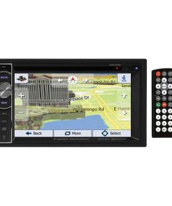 "Power Acoustik Double Din AM/FM/DVD/BT 6.2"" with Navigation"