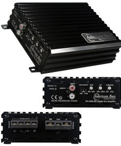 American Bass 1600W MAX Class D Amplifier Phantom Micro-Technology