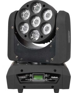 Epsilon 7-10 Watt Cree LED 4in1 RGBW Pixel Beam Moving Head