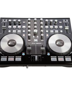 Epsilon True ultra compact 2 deck digital MIDI DJ controller (black)