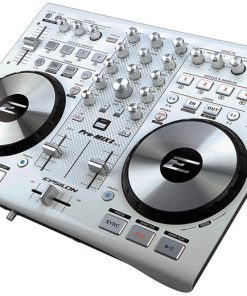 Epsilon True ultra compact 2 deck digital MIDI DJ controller (white)
