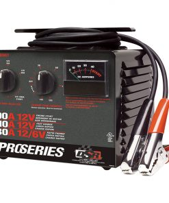 Schumacher ProSeries 10/30/200 Amp 6/12 Volt manual bench top battery charger/starter