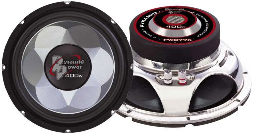 "WOOFER 6"" PYRAMID CHROME"