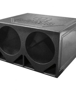 "Qpower Dual 12"" Woofer Box ""Q Bomb"" Turbo Ported"