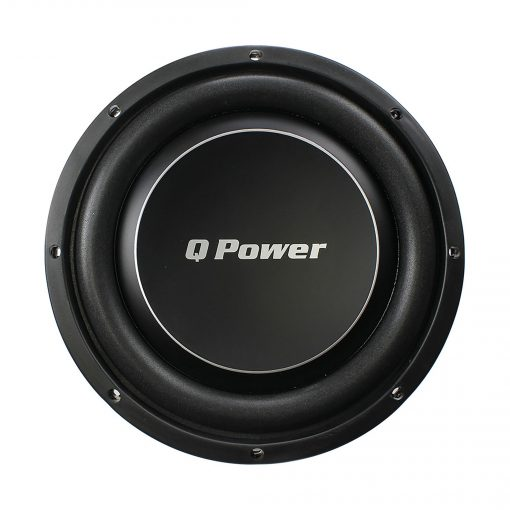 """Qpower Deluxe 12"""" Flat subwoofer 1200W Max"""