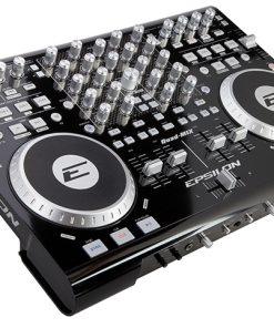 Epsilon 4 Deck USB professional MIDI DJ controller (black)