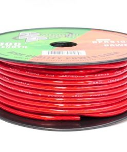 WIRE PYRAMID 8 GA. 100 FT. RED GOLD SERIES PRO MAX