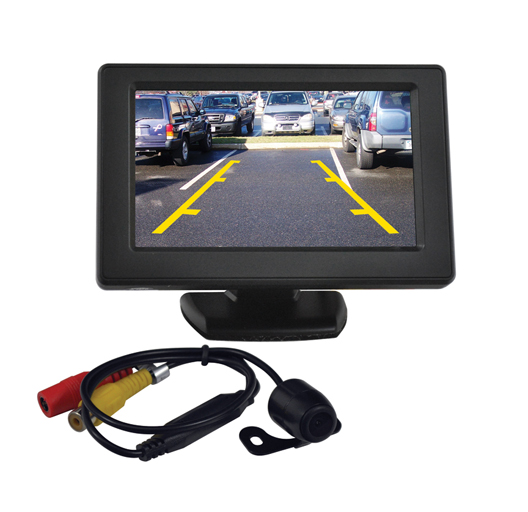 "Tview 4.3"" TFT monitor with backup camera"
