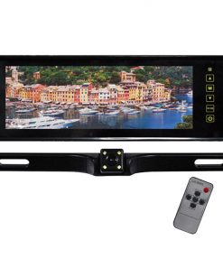 """Tview 8.8"""" TFT Monitor Built in Rear View Mirror Back up camera"""