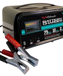 Schumacher 2/12/75 Amp Automatic Onboard Battery Charger
