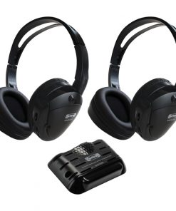 Soundstorm Two Pairs of wireless headphones and IR transmitter