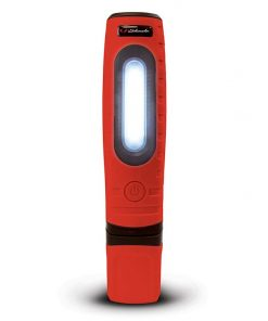 Schumacher Rechargeable Worklight 360 Degree Swivel Deluxe (Red)