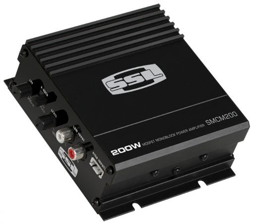 Soundstorm 200W Monoblock Amplifier Switchable Crossover