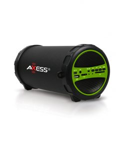 Axess Portable Bluetooth IndoorOutdoor Green with BuiltIn 3 Inch Sub