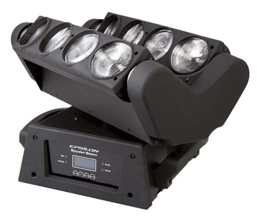 Epsilon 8-10 Watt Cree LED 4in1 RGBW Dual Head Moving Beam
