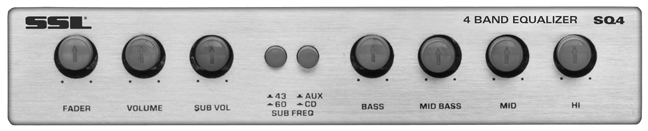 Soundstorm 4 band equalizer